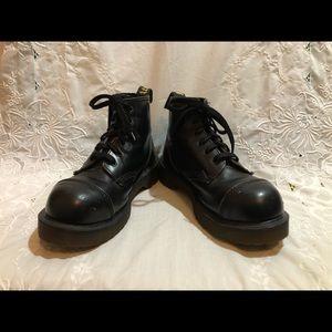 Doc Martens Steel Toe Boots ORIGINAL UK MAKE